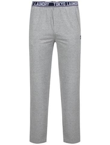 Tokyo Laundry Men's Danville Jersey Lounge Pants - Light Grey Marl