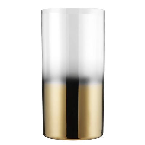 Bark & Blossom Two-Tone Glass T Light Holder