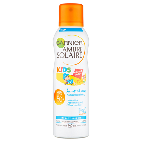 Garnier Ambre Solaire Kids Anti-Sand Spray SPF50 (200ml)