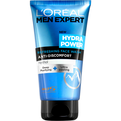 L'Oréal Paris Men Expert Hydra Power Refreshing Face Wash (150ml)