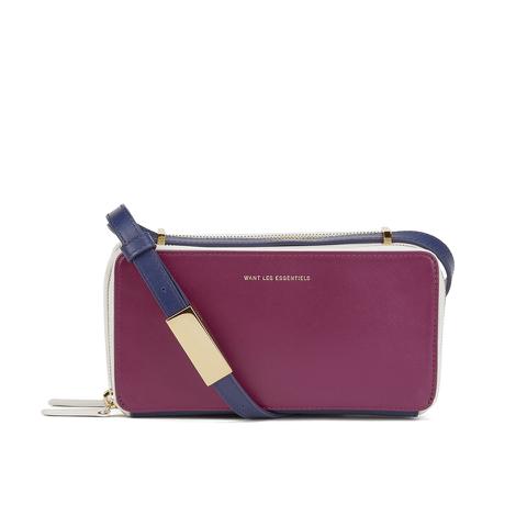 WANT LES ESSENTIELS Women's Demiranda Shoulder Bag - Multi Magenta