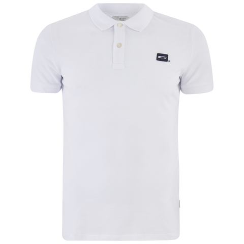 Jack & Jones Men's Core Basic Polo Shirt - White