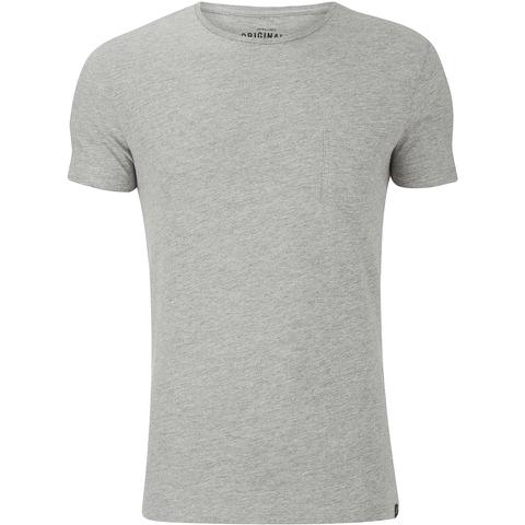 Jack & Jones Men's Originals Ari T-Shirt - Grey Melange