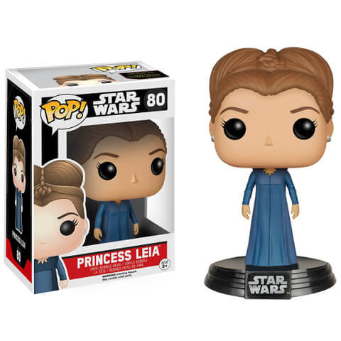 Star Wars The Force Awakens Princess Leia Pop! Vinyl Bobble Head Figure
