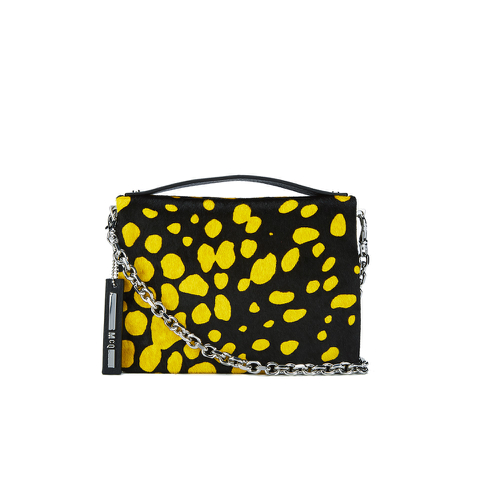 McQ Alexander McQueen Women's Simple Fold Bag - Black/Yellow