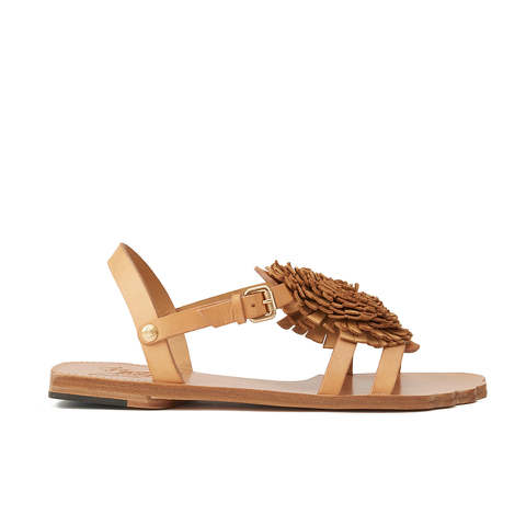 Vivienne Westwood Women's Animal Toe Flat Sandals - Tan