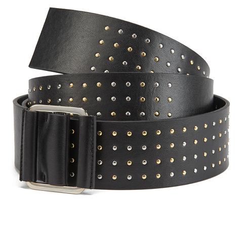 McQ Alexander McQueen Women's Knot Buckle Belt - Black