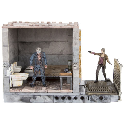 McFarlane The Walking Dead Upper Prison Cells Construction Set