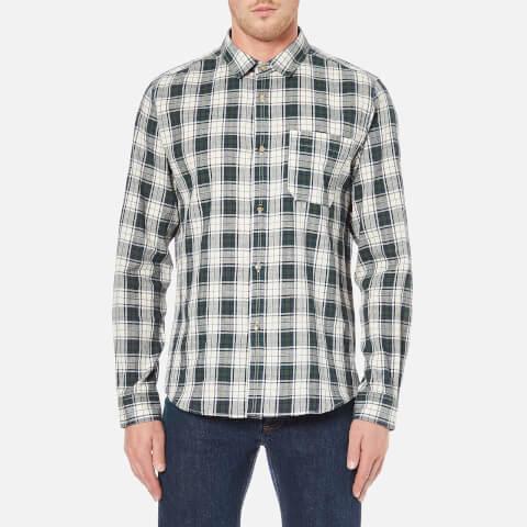 A.P.C. Men's Surchemise Trevor Check Shirt - Ecru