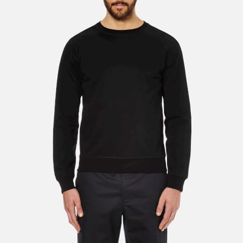 A.P.C. Men's Novak Long Sleeved Sweatshirt - Black