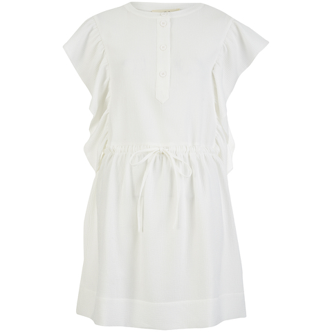 Vanessa Bruno Athe Women's Ewenn Ruffle Dress - Ivory