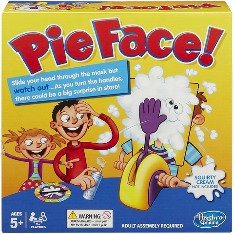 Pie Face - The Game