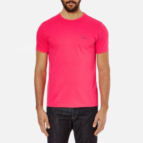BOSS Green Men's Small Logo T-Shirt - Pink