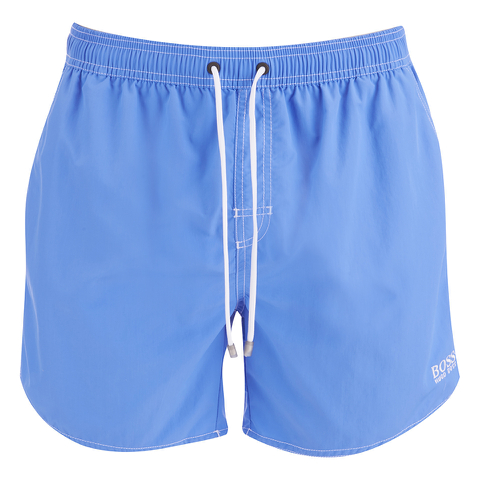 BOSS Hugo Boss Men's Lobster Swim Shorts - Blue