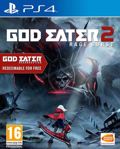 God Eater 2 Rage Burst - Includes God Eater Resurrection