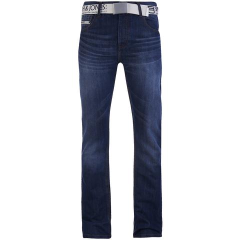 Smith & Jones Men's Furio Denim Jeans - Stonewash