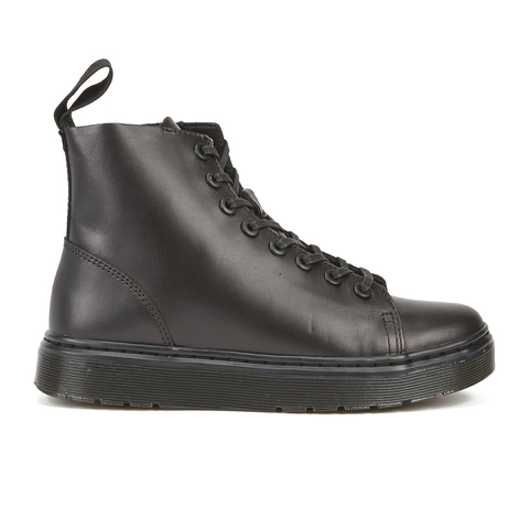 Dr. Martens Talib 8-Eye Raw Boots - Black
