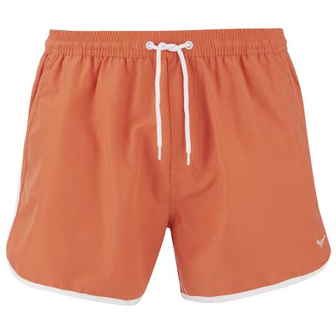 Threadbare Men's Swim Shorts - Orange