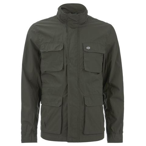 Threadbare Men's Diamond 4-Pocket Jacket - Khaki