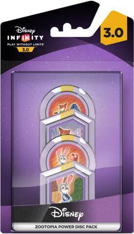 Disney Infinty 3.0: Zootropolis Power Disc Pack