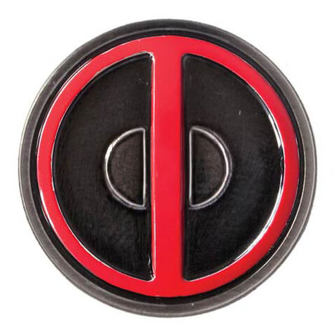 Marvel Deadpool Coloured Pewter Lapel Pin