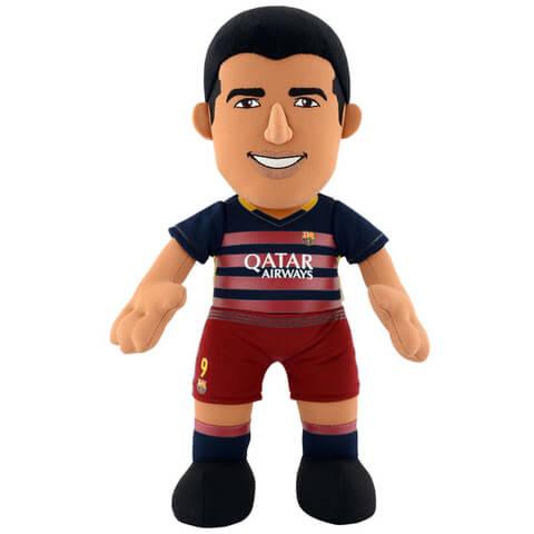 FC Barcelona Luis Suarez 10 Inch Bleacher Creature