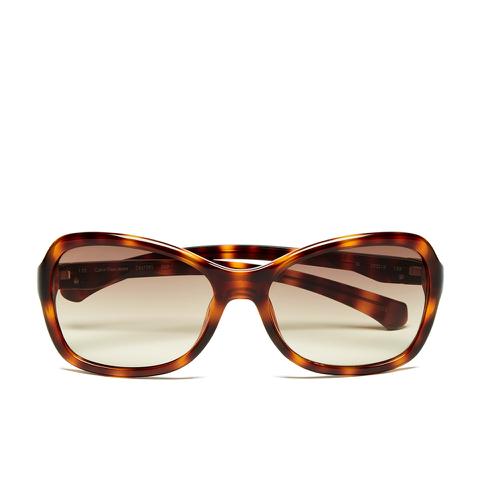 Calvin Klein Jeans Women's Oversized Sunglasses - Warm Tortoise