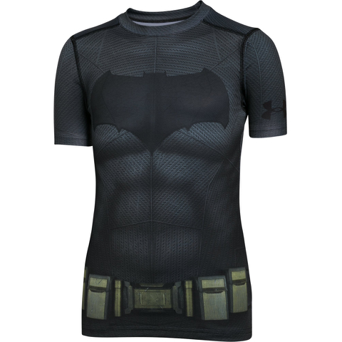 Under Armour Boy's Transform Yourself Batman T-Shirt - Black