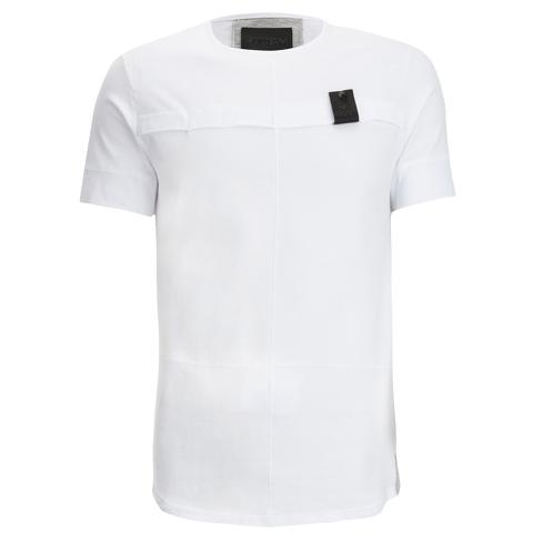 4Bidden Men's Longline Aim T-Shirt - White