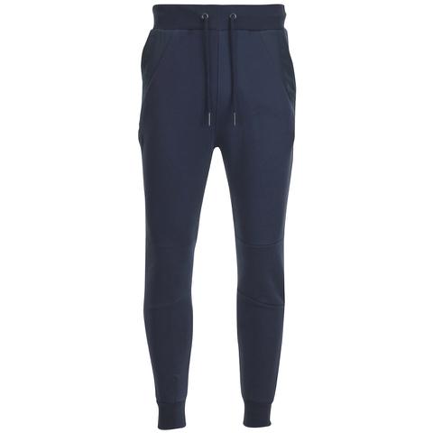 4Bidden Men's Pinicle Slim Fit Sweatpants - Navy