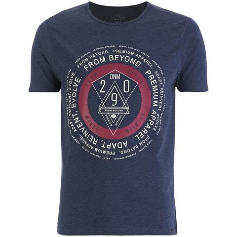 Smith & Jones Men's Arrowsli Print T-Shirt - Navy Blazer Marl