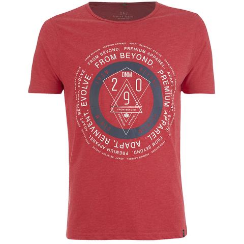 Smith & Jones Men's Arrowsli Print T-Shirt - True Red Marl