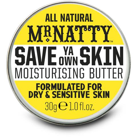 Mr Natty Save Ya Own Skin Moisturiser 30g