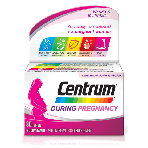 Centrum During Pregnancy Tablets (30 Tablets)