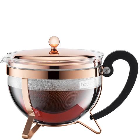 Bodum Chambord Copper Plated Teapot