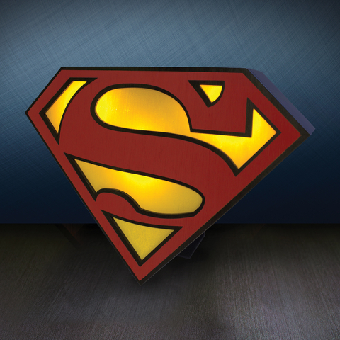 DC Comics Superman Logo Light