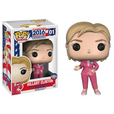 Hillary Clinton Funko Pop! Figur