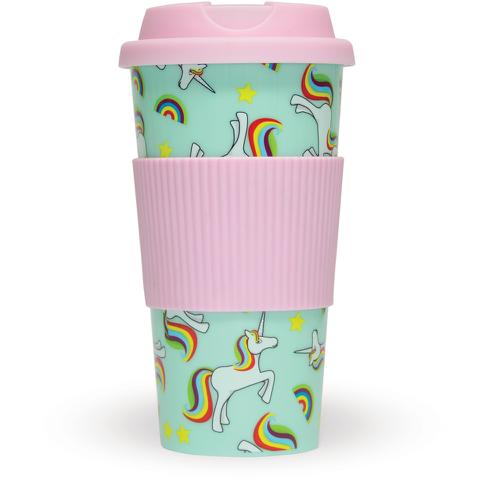 Unicorn Travel Mug - Multi (16oz)