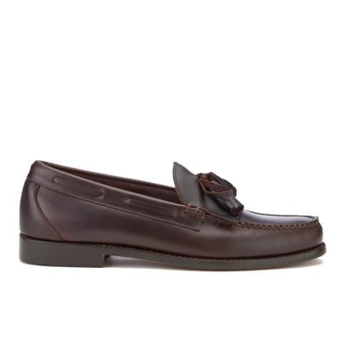 Bass Weejuns Men's Layton Kiltie Leather Loafers - Dark Brown