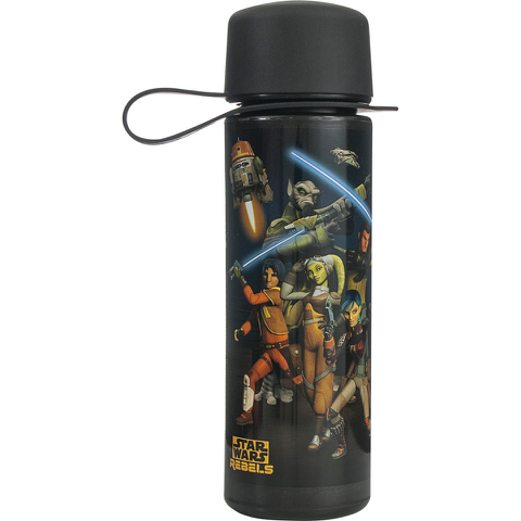 Star Wars Rebels Drinking Bottle - Black