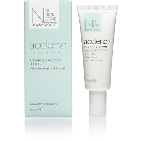 Dr. Nick Lowe acclenz Advanced Action Spot Gel 15ml