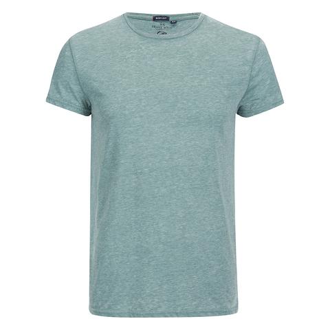 Brave Soul Men's Gonzalo Burnout T-Shirt - Sea Green