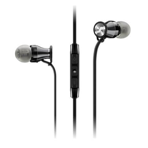 Sennheiser M2IE Momentum Earphones Inc In-Line Mic and Remote - Red