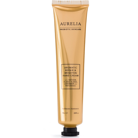 Aurelia Probiotic Skincare Crème Mains Aromatique Réparatrice et vivifiante 75ml