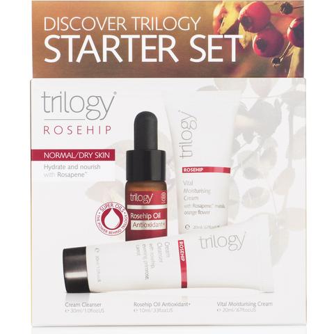 Trilogy Discover Starter Set - Rosehip for Normal/Dry Skin