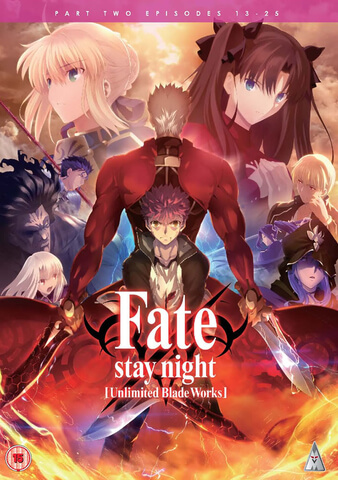 Fate Stay Night Unlimited Bladeworks Pt 2