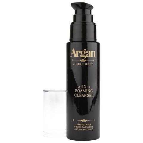 Argan Liquid Gold 2-in-1 Foaming Cleanser 50ml