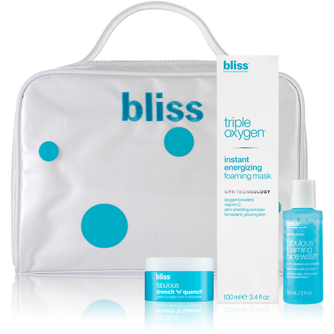 bliss Be Fabulous and Get 'Glowing' Set (Worth £60.00)