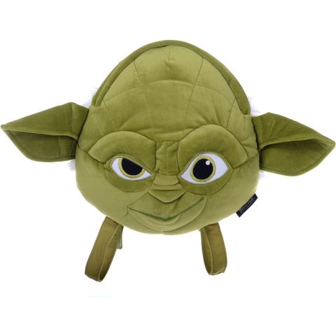Star Wars Yoda Plush Head Shaped Backpack