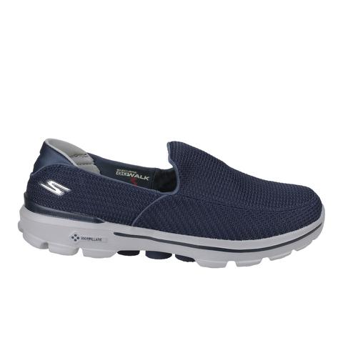 Skechers Men's GOwalk 3 Low Top Trainers - Blue